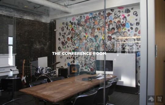 Dropbox office - Salle de conférence