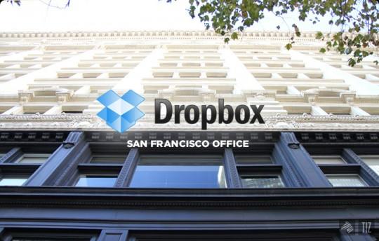 Dropbox office - les bureaux de Dropbox à San Francisco