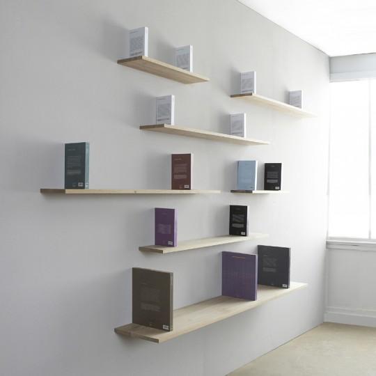 Sur cette biblioth que ce sont les livres qui portent l for Tablette au dessus d un radiateur