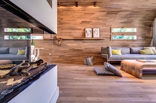Appartement cosy Tel Aviv - Cheminée design