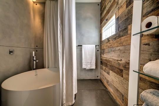 Appartement cosy Tel Aviv - baignoire ronde