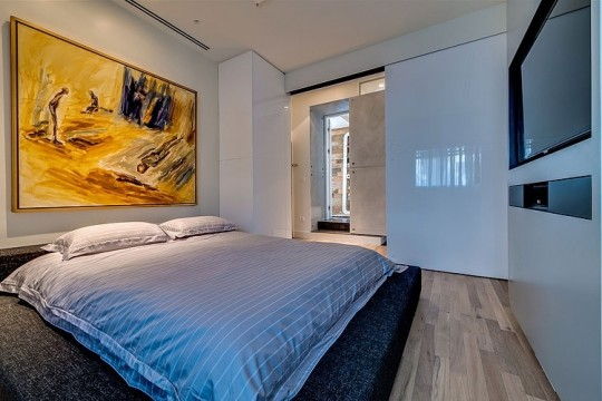 Appartement cosy Tel Aviv - chambre parentale