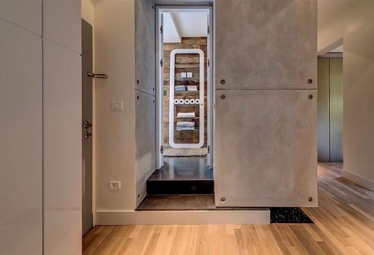 Appartement cosy Tel Aviv - entrée de la salle de bain