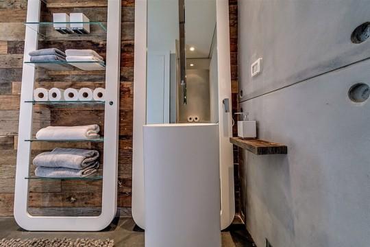 Appartement cosy Tel Aviv - lavabo sur pied