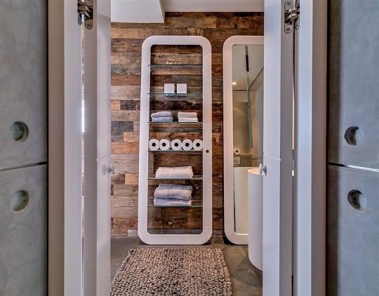 Appartement cosy Tel Aviv - meuble de la salle de bain