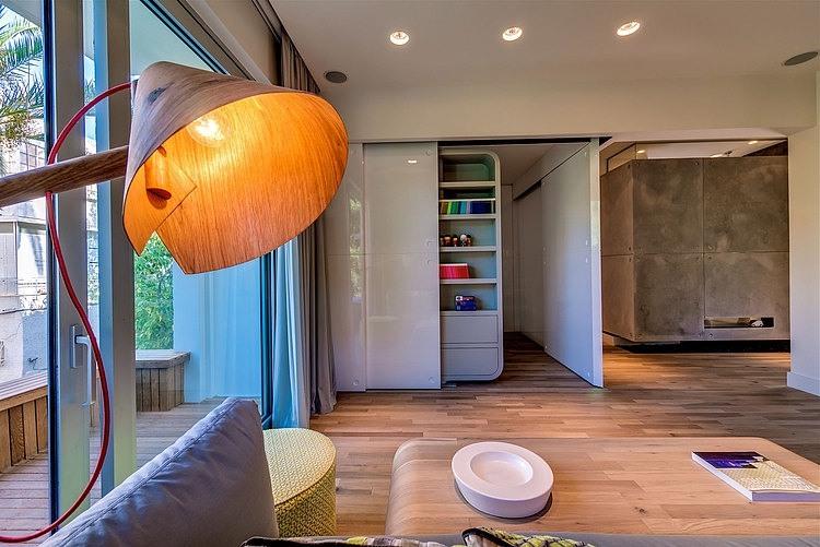 Appartement cosy tel aviv photo du salon for Appartement design tel aviv