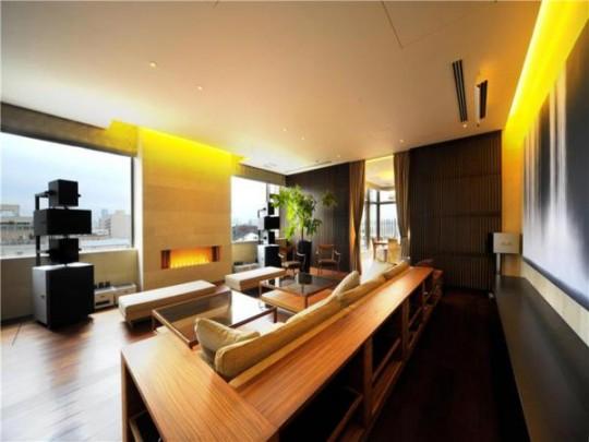 L'appartement avec 1 chambre le plus cher du monde à Tokyo