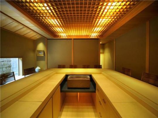 L'appartement avec 1 chambre le plus cher du monde - Bar avec ilot central