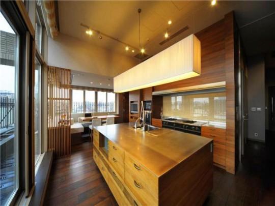 L'appartement avec 1 chambre le plus cher du monde - Cuisine américaine