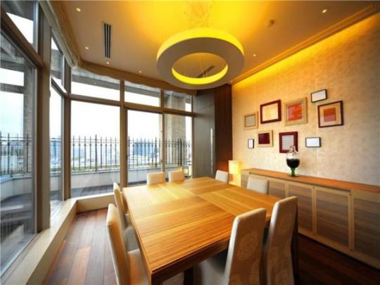 L'appartement avec 1 chambre le plus cher du monde - Salle à manger