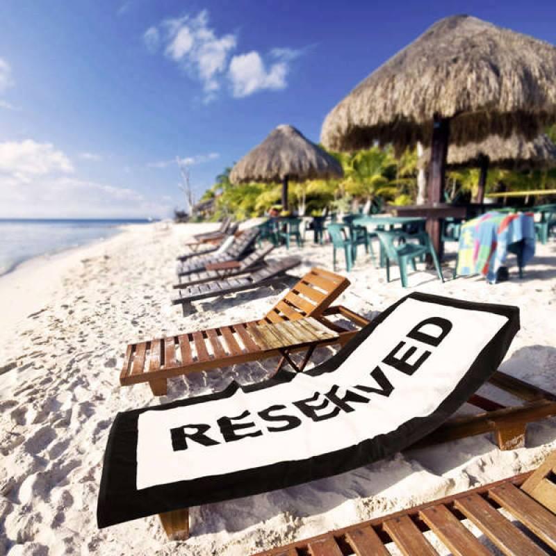 Serviette de plage originale - acheter avec Faire le Poireau
