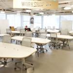 Table de réunion Meeting dans un Open Space