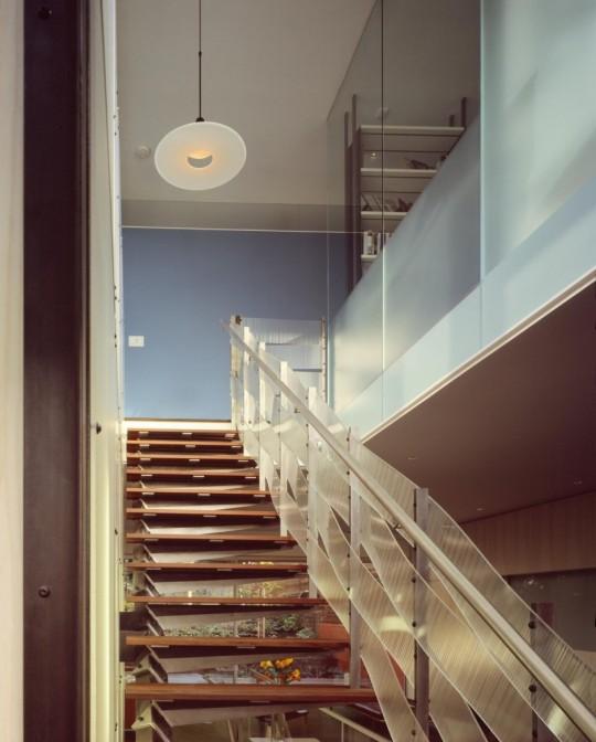 1532 House - San Francisco - escalier