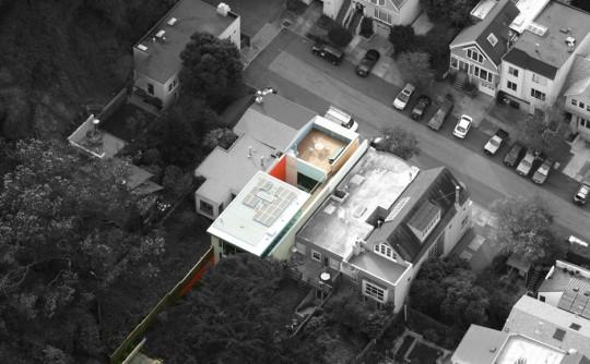 1532 House - San Francisco vue aérienne