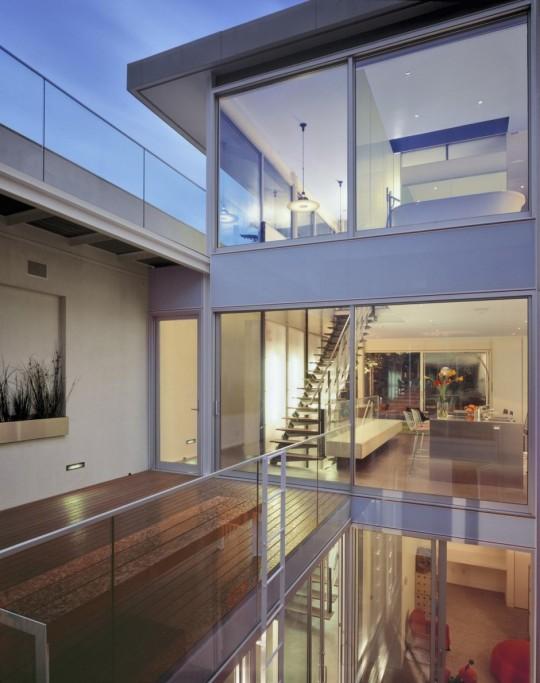 1532 House - San Francisco - vue du patio
