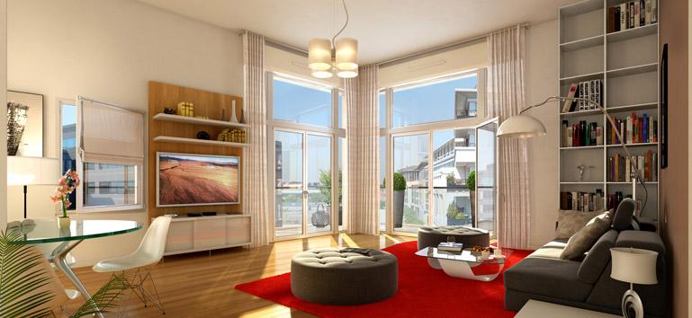 int rieur contemporain l 39 appartement t moin de carr monceau. Black Bedroom Furniture Sets. Home Design Ideas