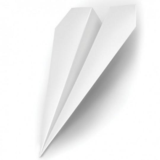 Cale-porte fusée en papier