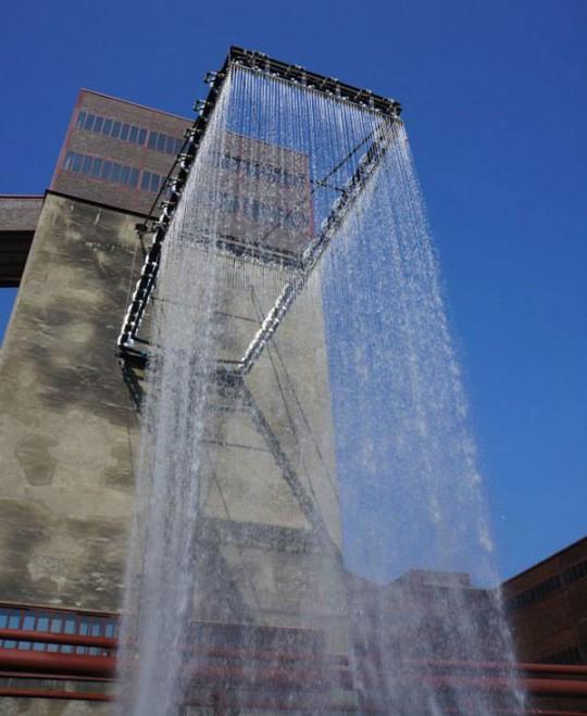 douche effet pluie geante litres d 39 eau par minute. Black Bedroom Furniture Sets. Home Design Ideas