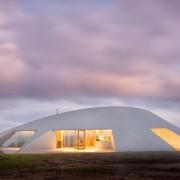 Maison Croft par James Stockwell - maison soucoupe volante