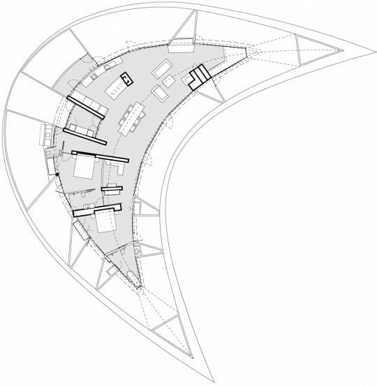 Maison Croft par James Stockwell - plan