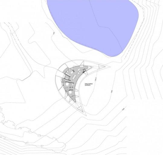 Maison Croft par James Stockwell - plan de masse