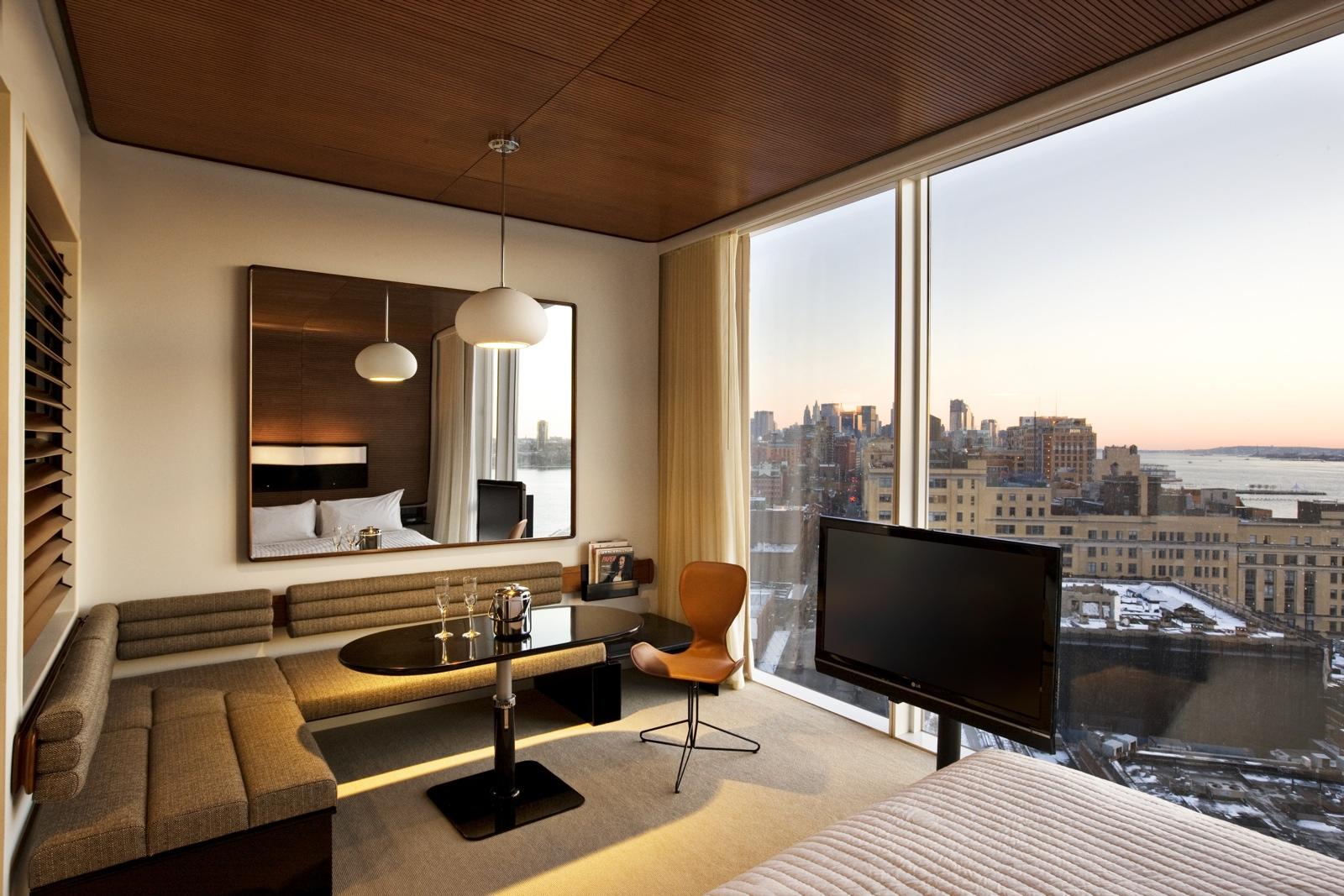 Un hôtel design au cœur de Manhattan avec une vue à couper le souffle sur New-York