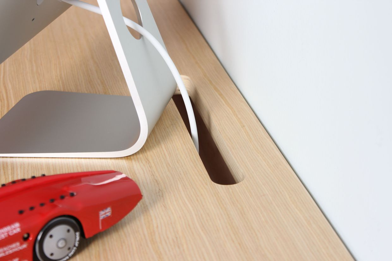 Bureau moderne suspendu bureau avec rangement moderne