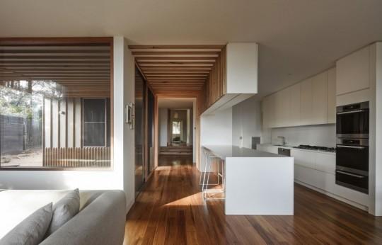 Maison contemporaine à Brighton en Australie - cuisine américaine
