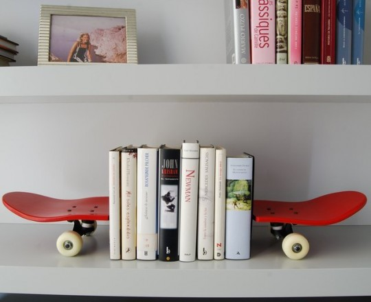 Serre-livres Tail and Nose by Skate-Home