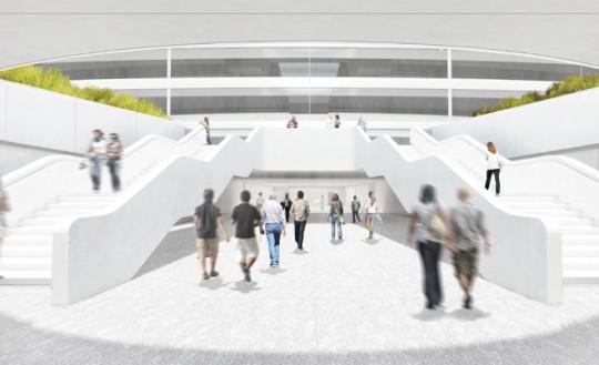 Apple Campus Cupertino 2 entrée principale