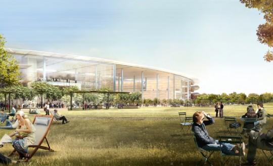 Apple Campus Cupertino - espace détente