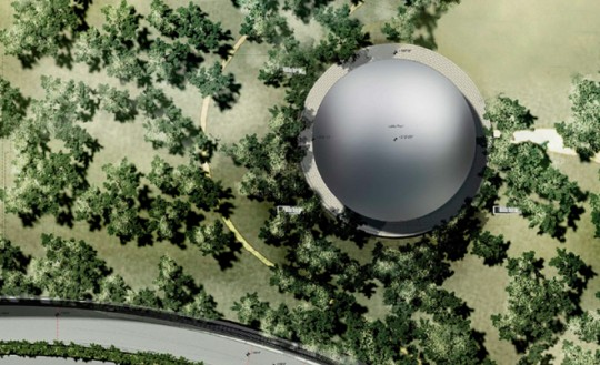Apple Campus Cupertino - plan de masse