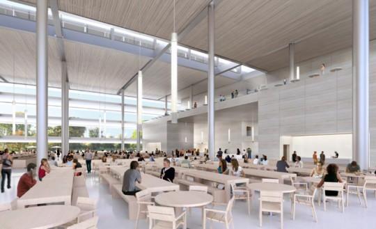 Apple Campus Cupertino - restaurant