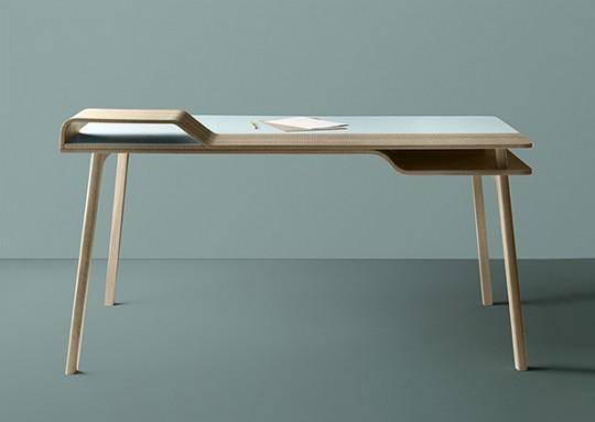 Bureau en bois design Belharra Treku