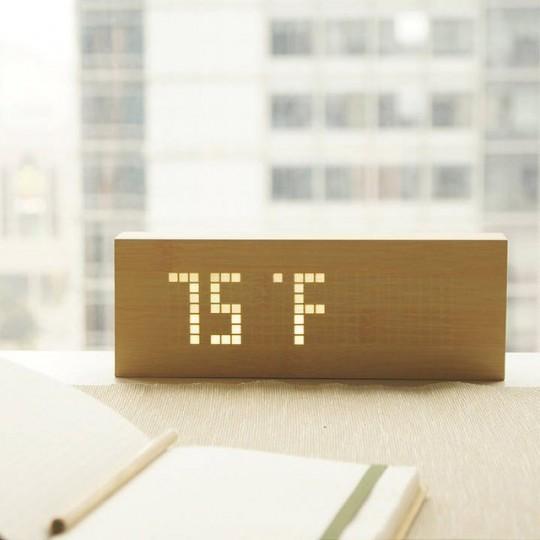Horloge Click Message Clock by Gingko