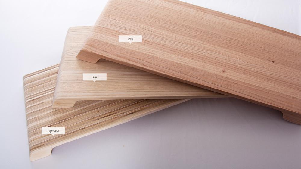 Lifta le support en bois pour ordinateur triplement utile