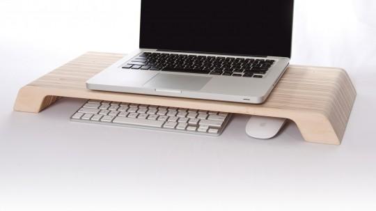 Lifta - plateau en bois pour ordinateur