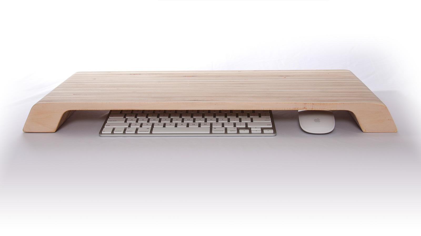 Lifta support en bois pour ordinateur for Bureau en bois pour ordinateur
