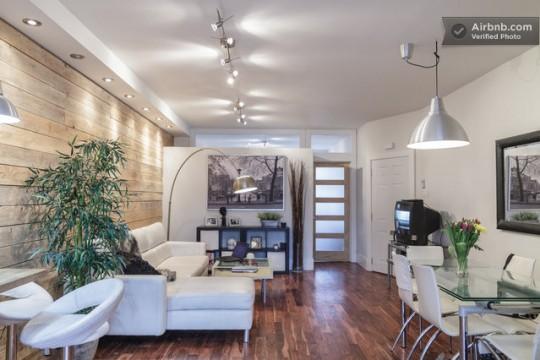 Airbnb appartement 1 p!èce à louer à Montréal