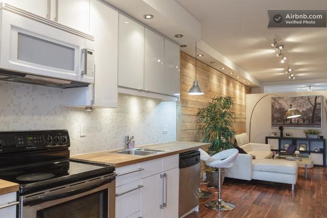 airbnb cuisine am233ricaine dans un studio 224 montr233al