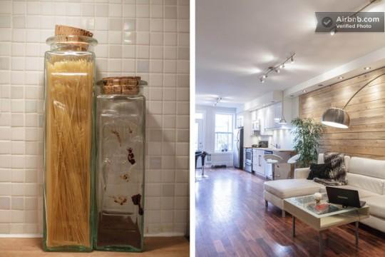 Airbnb détails dans un studio à Montréal