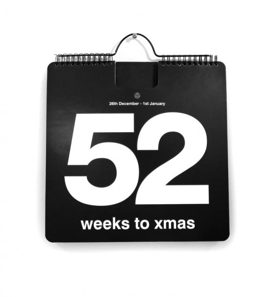 Calendrier de l'avent 52 weeks to Xmas