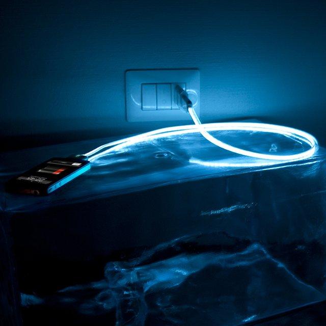 Hi-Lighting cable : Câble chargeur lumineux pour iPhone