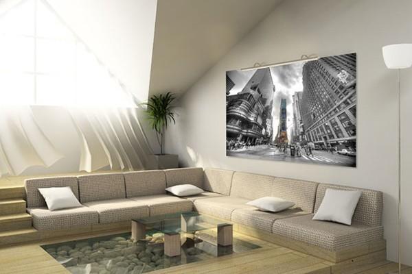 une toile xxl pour une d co perso quelle id e. Black Bedroom Furniture Sets. Home Design Ideas