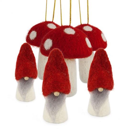 Gnomes et champignon