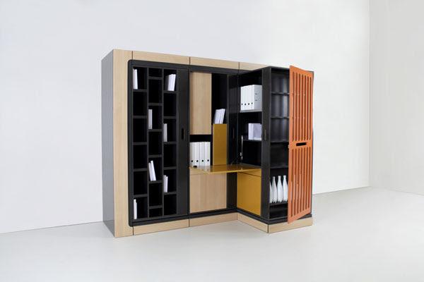 hic ubiq rangement modulable pour les petits espaces. Black Bedroom Furniture Sets. Home Design Ideas