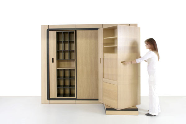 Hic ubiq rangement modulable malin pour les petits espaces - Home rangement malin ...