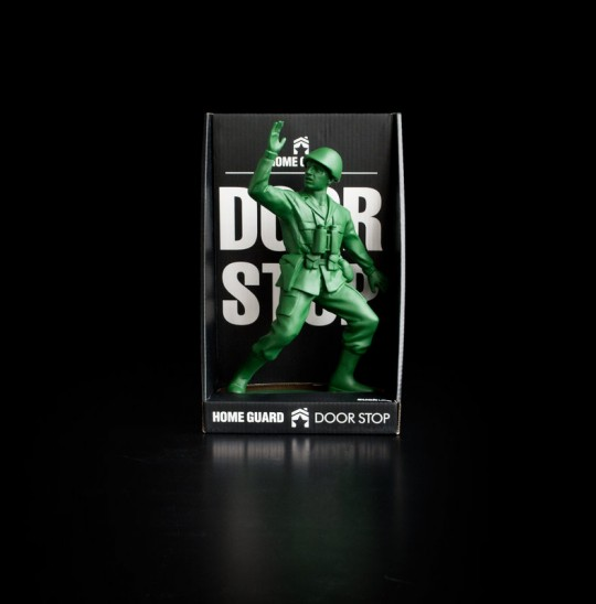 Home guard - Bloque-porte soldat vert