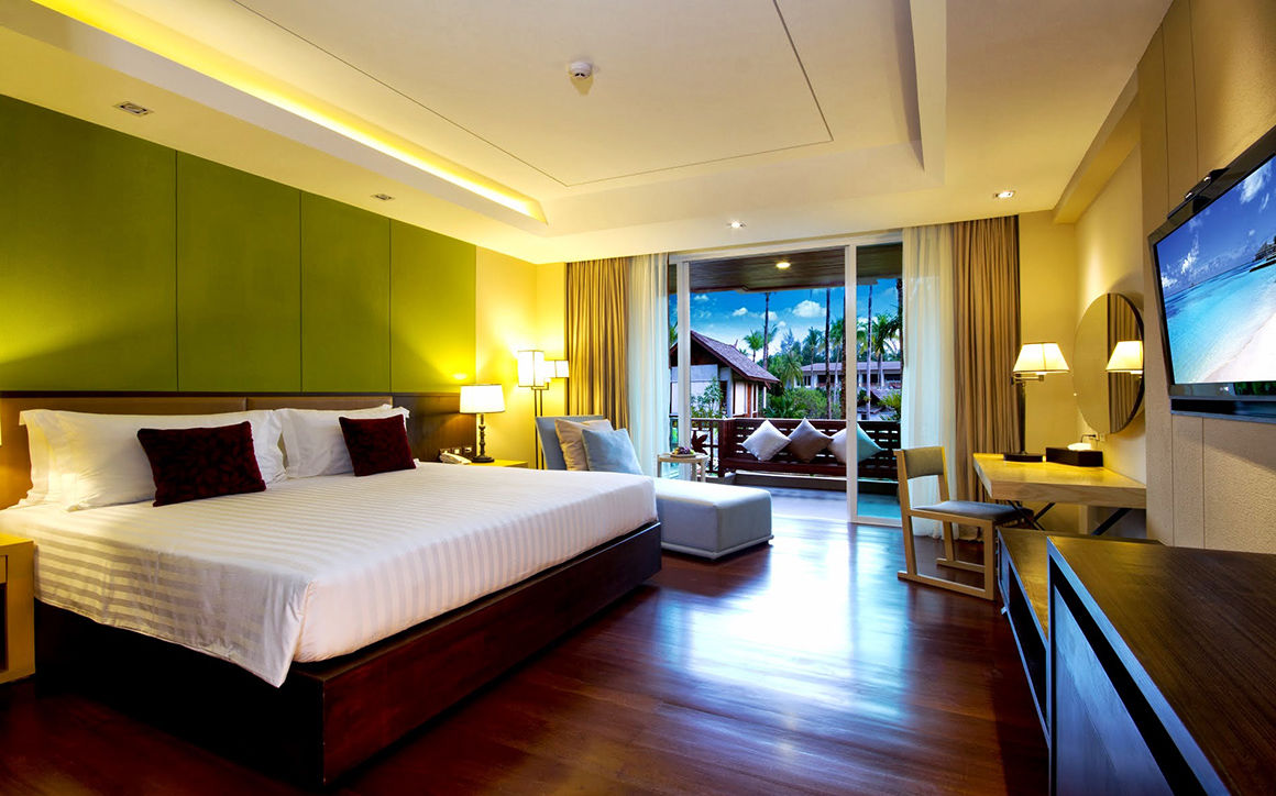 hotel sentido graceland khao lak en tha lande chambre de luxe. Black Bedroom Furniture Sets. Home Design Ideas