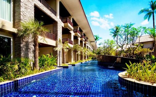 Hotel Sentido Graceland à Khao Lak en Thaïlande - piscine